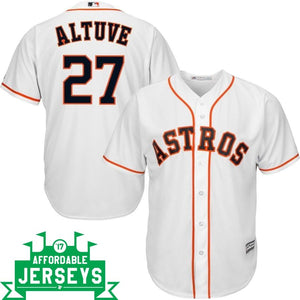Jose Altuve Home Cool Base Player Jersey