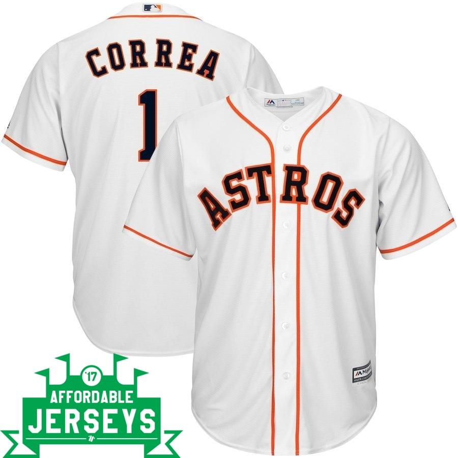 Carlos Correa Home Cool Base Player Jersey - AffordableJerseys.com