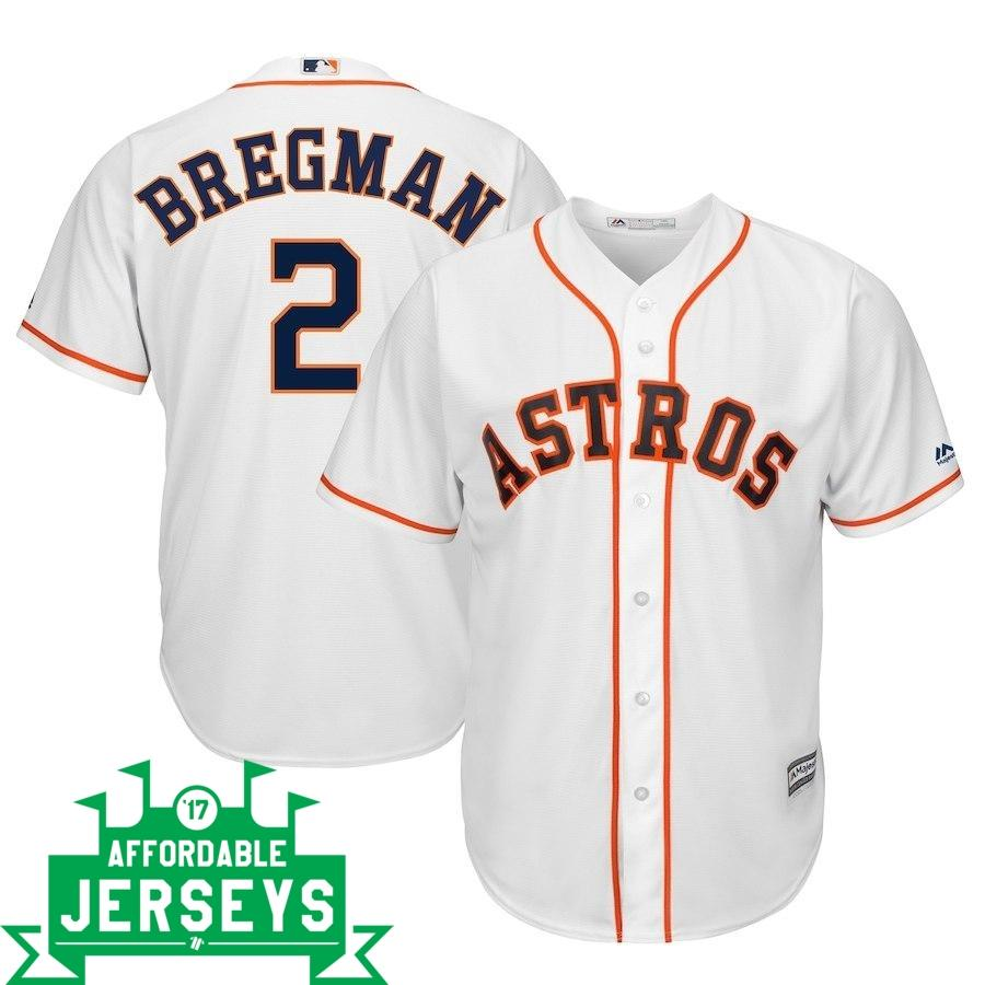 Alex Bregman Home Cool Base Player Jersey - AffordableJerseys.com