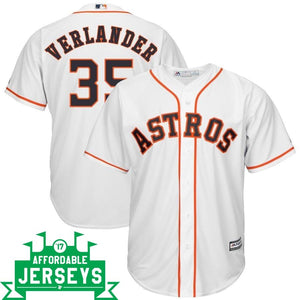 Justin Verlander Home Cool Base Player Jersey