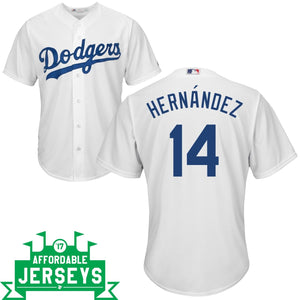 Enrique Hernández Youth Home Cool Base Player Jersey - AffordableJerseys.com