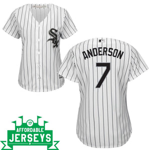 Tim Anderson Home Women's Cool Base Player Jersey - AffordableJerseys.com