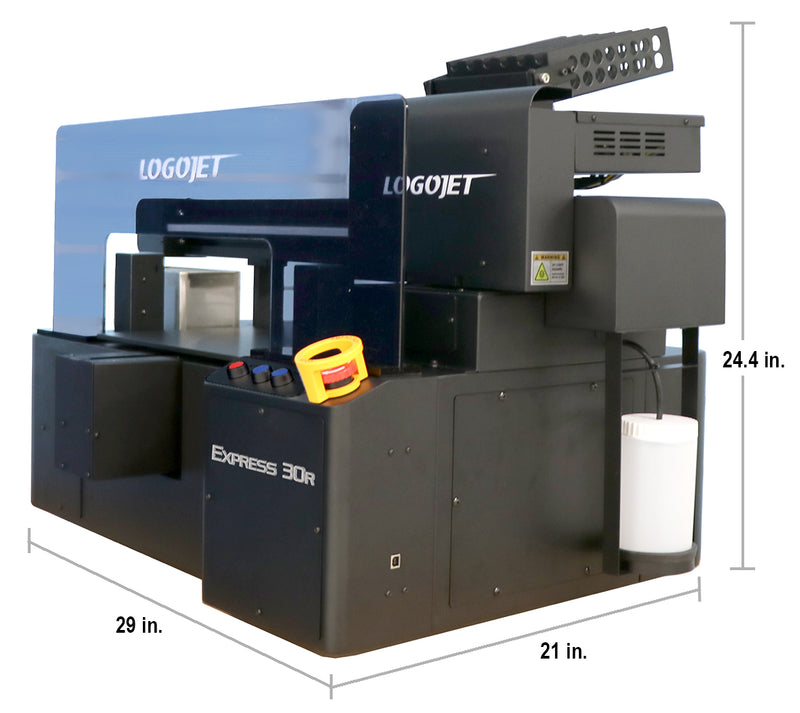 "LogoJET Express 30R Direct to Substrate Printer 11""W x 15""L x 2.5""H"