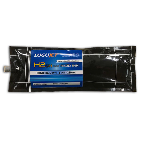LogoJET UV-Curable Ink for UVx40R and UVx90R Printers, 200ml Bag