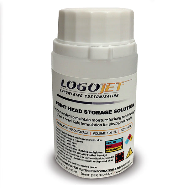 LogoJET Print Head Storage Solution - 100mL