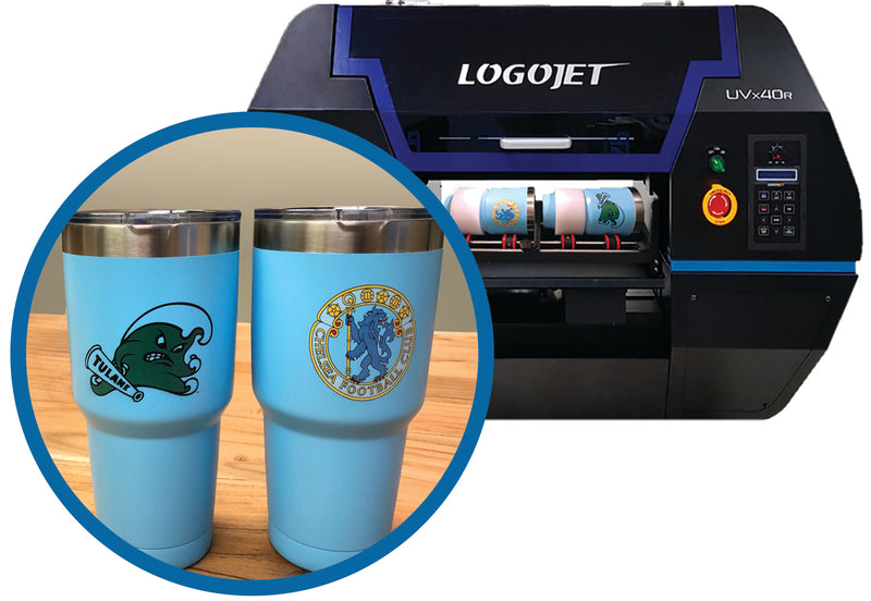 "LogoJET UVx40R Direct to Substrate Printer 18""W x 18""L x 5""H"