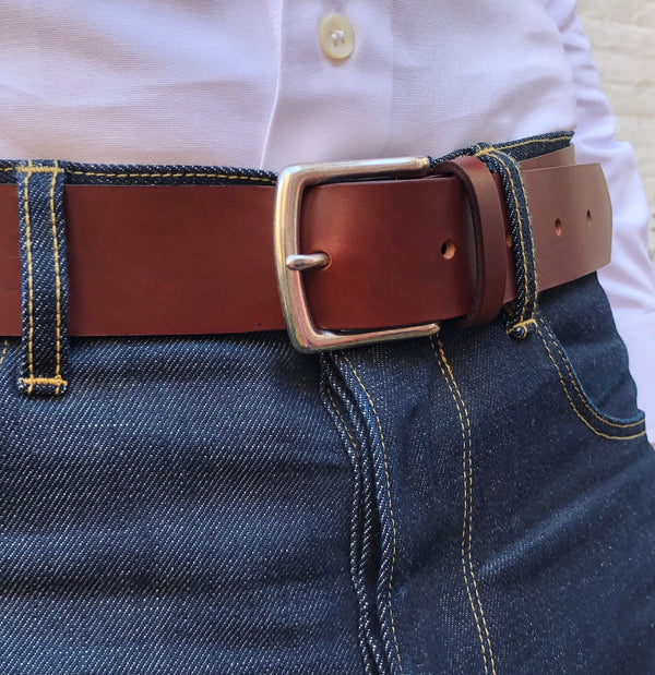 Hanson bespoke leather belt