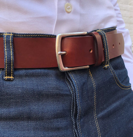 Hanson of London, bespoke leather belt