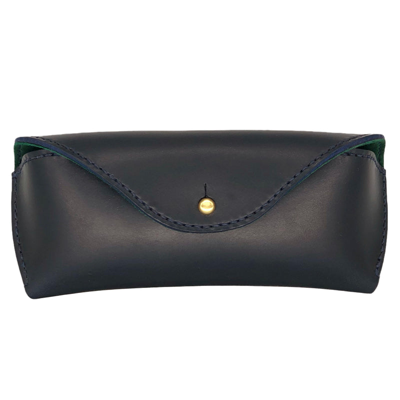 Bridle leather sunglasses case