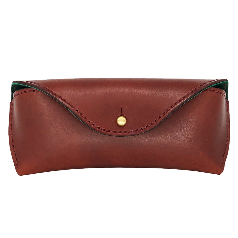 Leather embossing eyewear case
