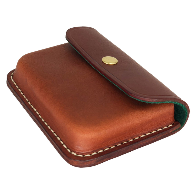 Saddle stitched cardholder
