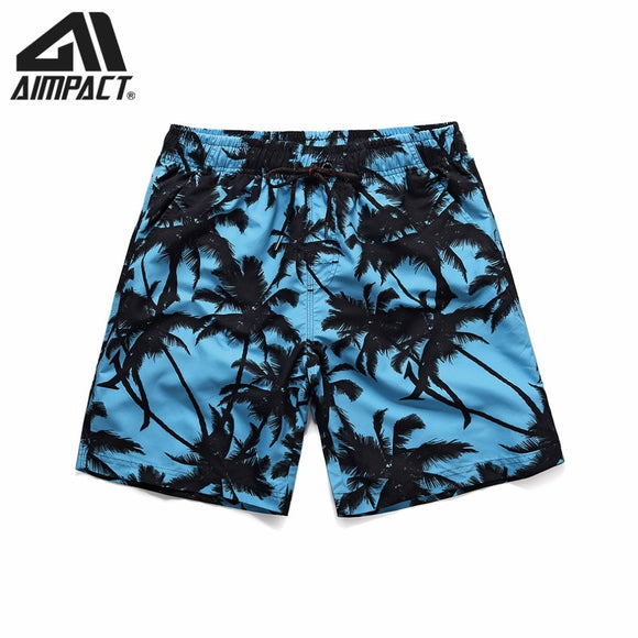 575fed0b34 Quick Dry Boardshorts for Men Casual Surf Beach Swim Shorts Summer Holiday  Sport Running Hybird Shorts