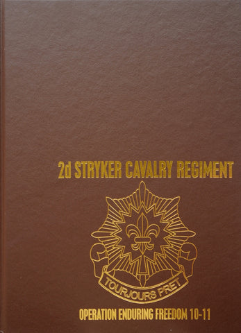 TF Dragoon - 2d Stryker Cavalry Regiment 10-11 Deployment Book