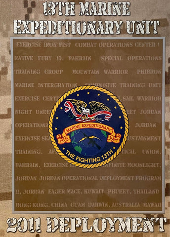 13th Marine Expeditionary Unit 2010-11 Cruisebook