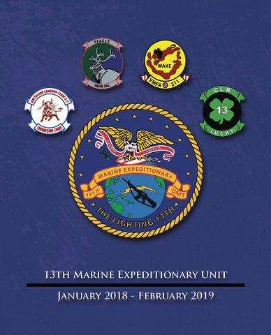 13th MEU 2018-2019 Cruisebook