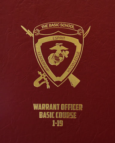The Basic School - India Company Warrant Officer Course 2019