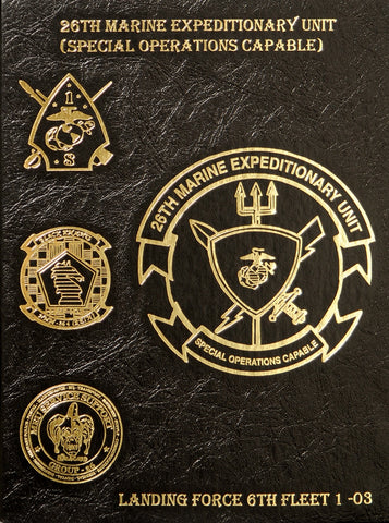 26th Marine Expeditionary Unit (SOC) 2003 Cruisebook