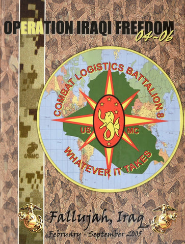 Combat Logistics Battalion 8 (CLB-8) 2005 Unit Book