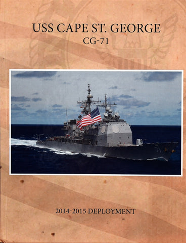 USS Cape St. George (CG 71) 2014 Deployment