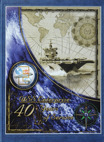 USS Enterprise (CVN 65) 2001 Cruisebook