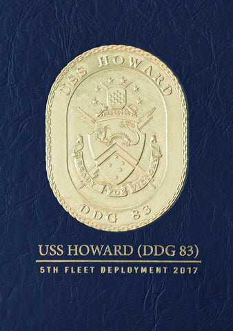 USS Howard (DDG 83) 2017 Cruisebook