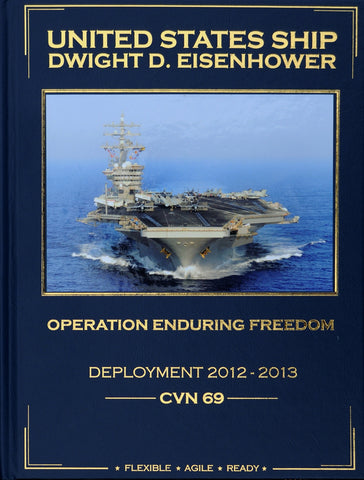 USS Dwight D. Eisenhower (CVN 69) 2012-2013 Cruisebook