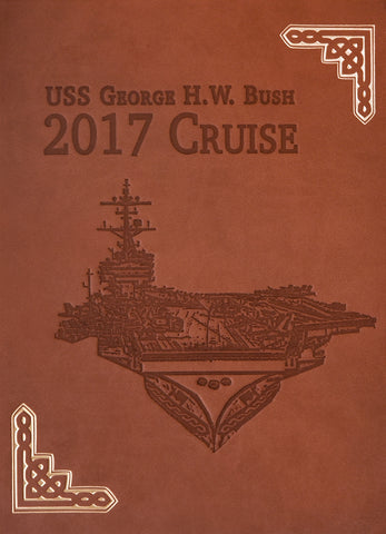 USS George H.W. Bush (CVN 77) 2017 Cruisebook