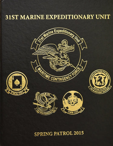 31st Marine Expeditionary Unit 2015 Cruisebook