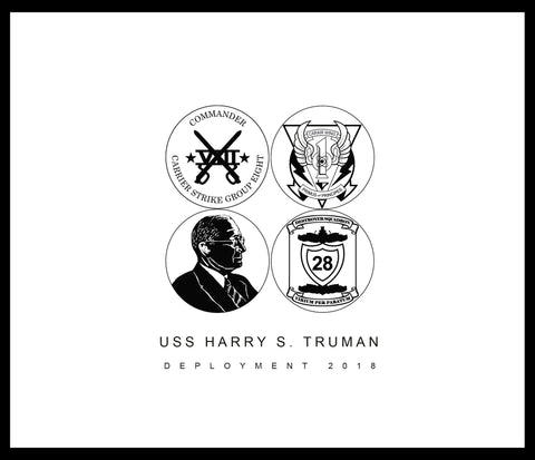 USS Harry S. Truman (CVN 75) 2018 Deployment Cruisebook