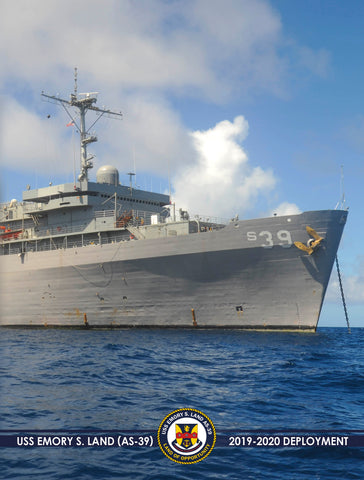 USS Emory S. Land (AS-39) 2019-2020 Deployment Cruisebook