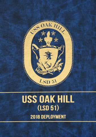 USS Oak Hill (LSD 51) 2018 Deployment Cruisebook