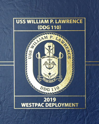 USS William P. Lawrence (DDG 110) 2019 Deployment Cruisebook