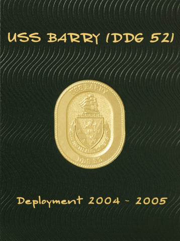 USS Barry 2004-05 Cruisebook