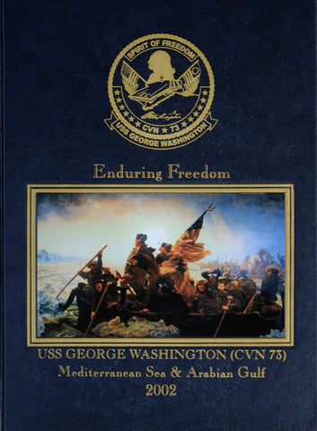 USS George Washington (CVN 73) 2002 Cruisebook
