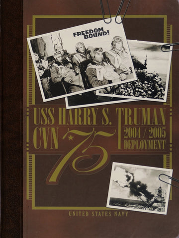 USS Harry S. Truman (CVN 75) 2004-2005 Cruisebook