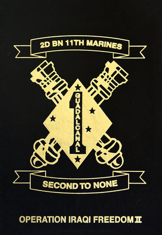 2nd Battalion 11th Marines - 1st Marine Division 2004-05 Deployment book