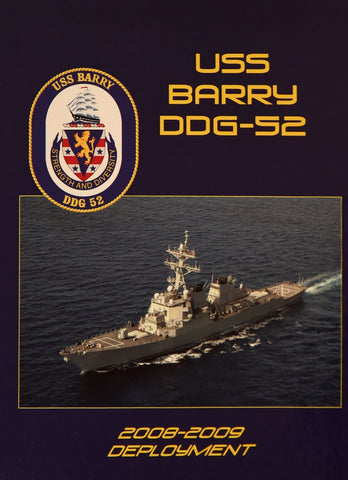 USS Barry (DDG 52) 2008-09 Cruisebook