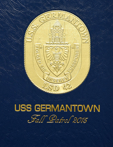 USS Germantown (LSD 42) 2015 Cruisebook