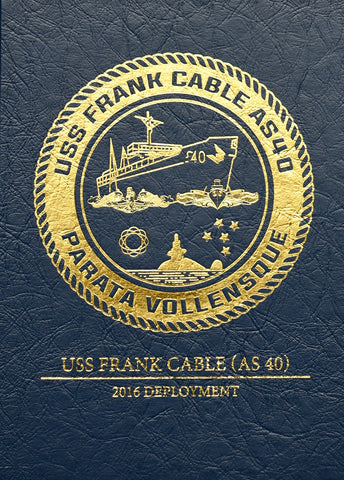 USS Frank Cable (AS 40) 2016 Cruisebook