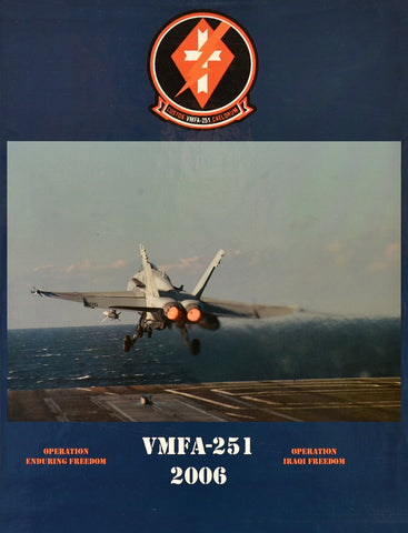Marine Fighter Attack Squadron 251 (VMFA 251) 2006 Cruisebook