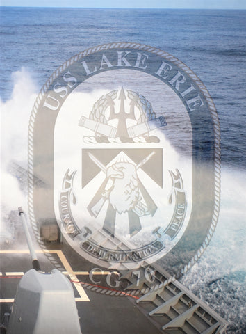 USS Lake Erie (CG 70) 2017 Deployment Cruisebook