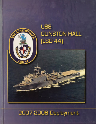 USS Gunston Hall (LSD 44) 2007-2008 Cruisebook