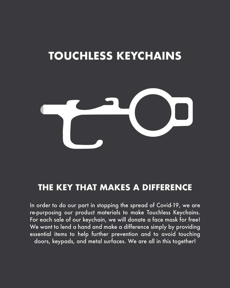 Touchless Keychain 2 pack