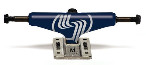 SILVER M-CLS HOLLOW Trucks Blue 8.0 Set