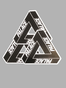 Palace Tri Ferg Sticker Black Set of 3