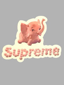 Supreme Elephant Sticker