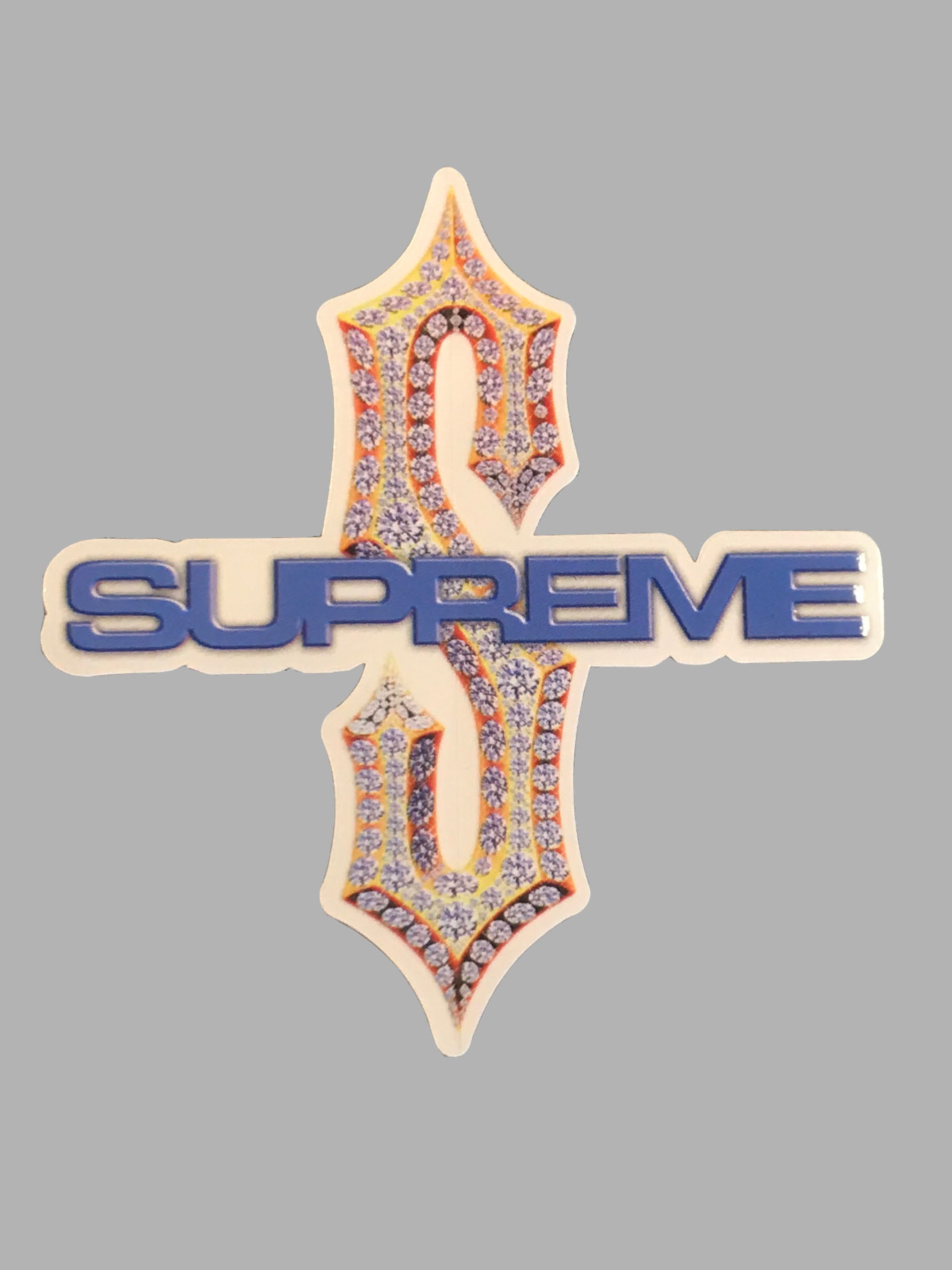 Supreme Diamond Sticker