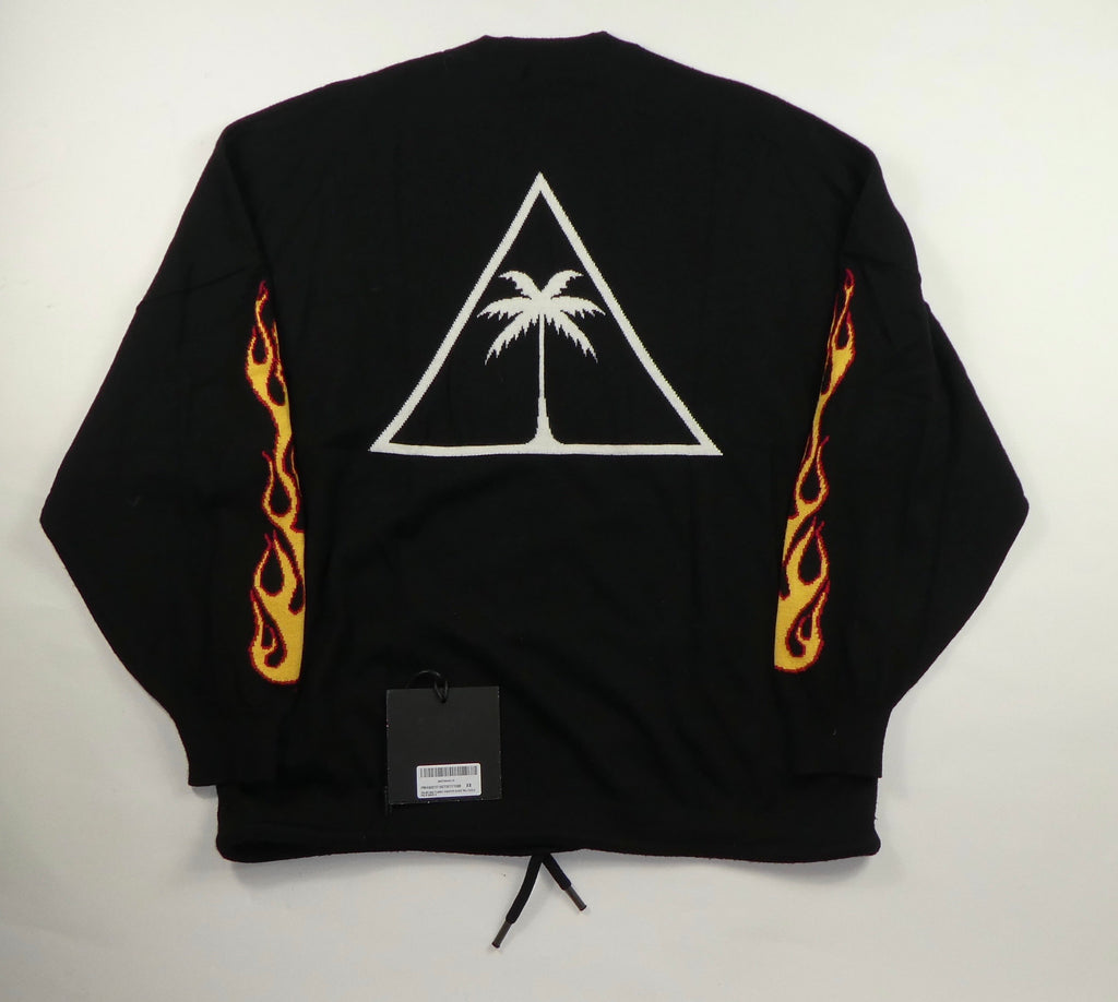 Palm Angels Flame Logo Jumper - XS
