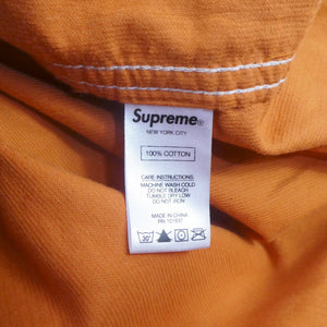 Supreme Corduroy Quarter Zip Shirt
