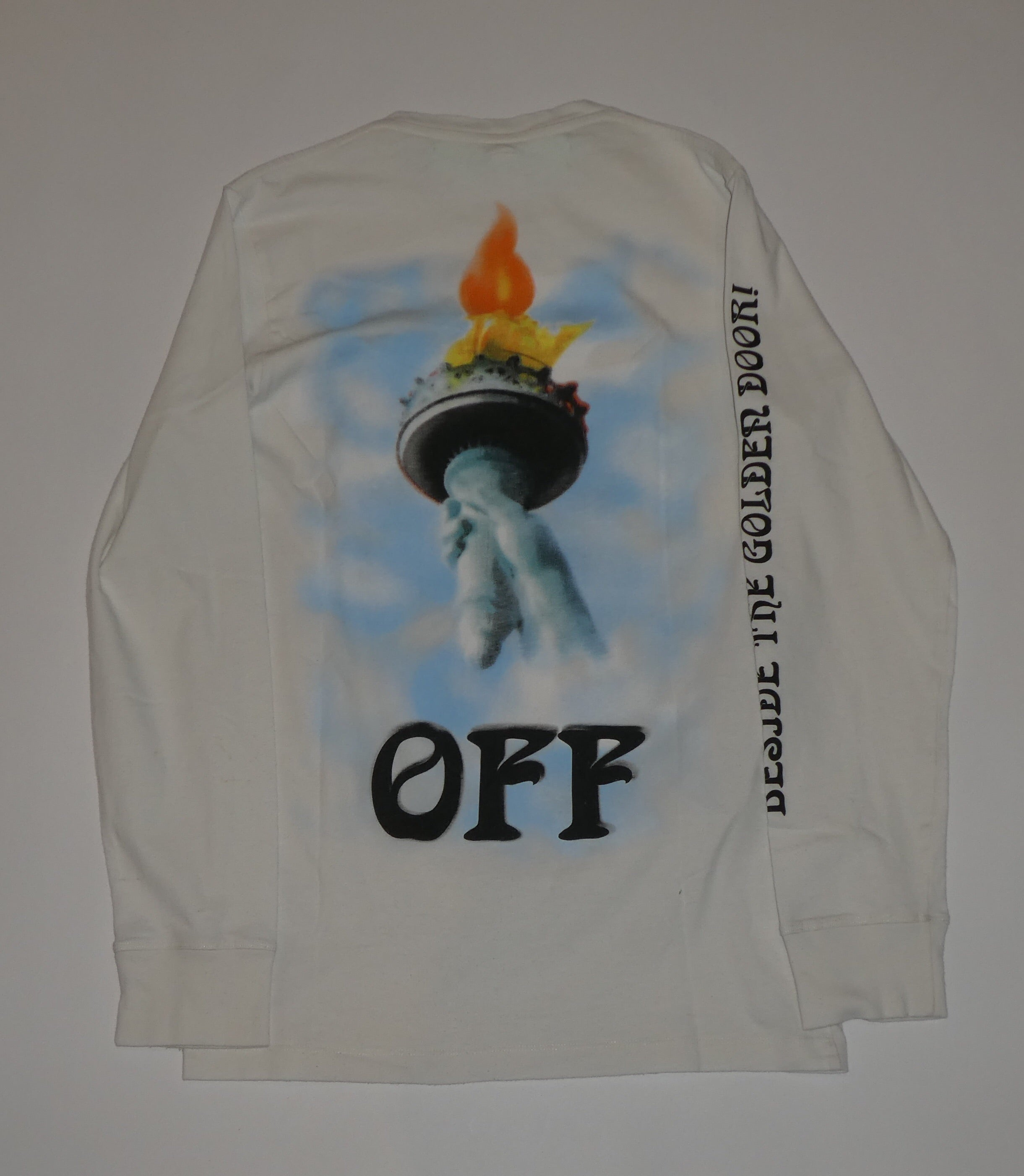 Off White Statue of Liberty Longsleeve - Small